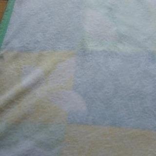 オールシーズンに使えるアクリル毛布★薄緑 140x200cm - 京都市
