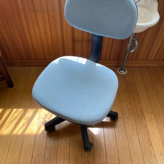 机用椅子2つ
