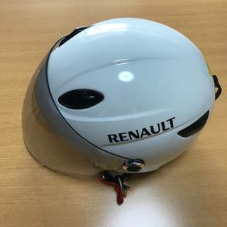 シールド付ハーフヘルメット/RENAULT(ルノー)RN-666