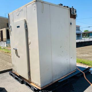 🌸プレハブ冷蔵庫 一坪 業務用 冷凍冷蔵