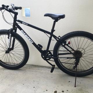 DIAMANTE タイヤ太いギア付き自転車 26inch