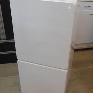 U-ING 2ドア 冷凍冷蔵庫 UR-F110H 2016年製 中古品