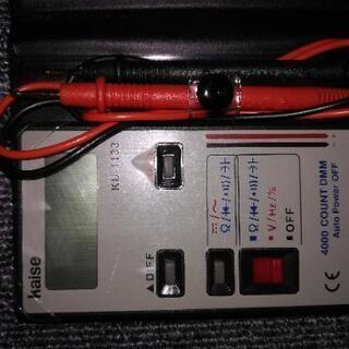 新品未使用 Kaise デジタルマルチメーター KU-1133