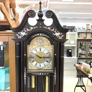 【⠀Tempus Fugit 柱時計 】 振り子時計 大型 置時...