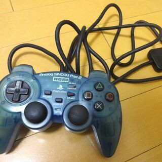 PS2 コントローラー HORI Analog SINDOU P...