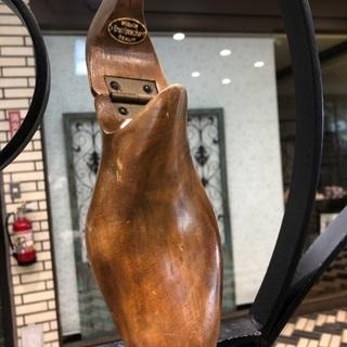 アンティークベルリン靴の木型コート掛け