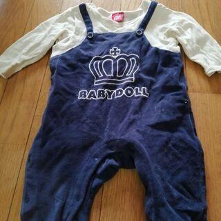 ベビードール 無料 80 赤ちゃん ベビー 服 カバーオール?