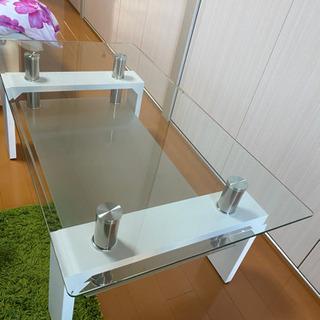 ガラステーブル【⠀決まりました  】