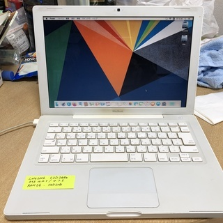MacBook Late 2006 (Yosemiteインストー...