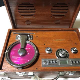 アンティーク CD   ラジオ インテリア