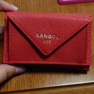 KANGOL 三つ折財布 新品未使用