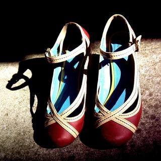 女性用靴300円