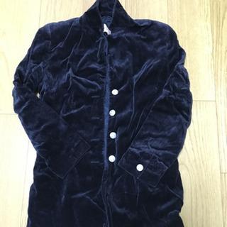 ベロア ジャケット ブラック