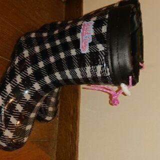 長靴 【新品】値下げ 女の子 23cm