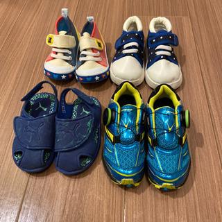 子供 靴 スニーカー サンダル まとめ売り 14cm