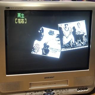 VHSビデオを見られる『SHARP テレビデオ』お譲りいたします!!