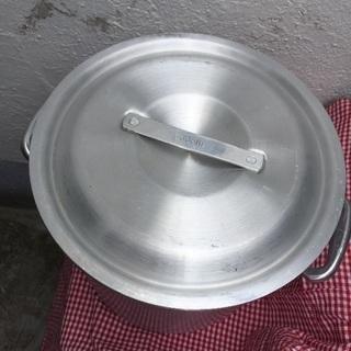 期間限定‼️プロ仕様大型アルミ鍋直径30センチ