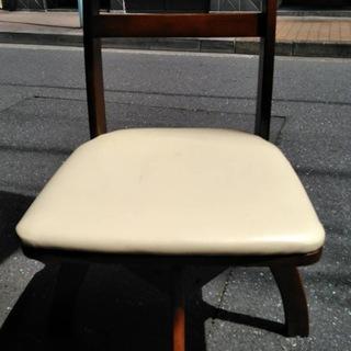回転椅子2脚
