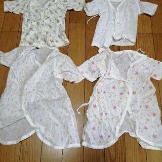 無料 新生児 50 60 赤ちゃん ベビー コンビ肌着 短肌着 ...