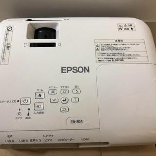 ☆ エプソン プロジェクター EB-S04 美品 - 家電