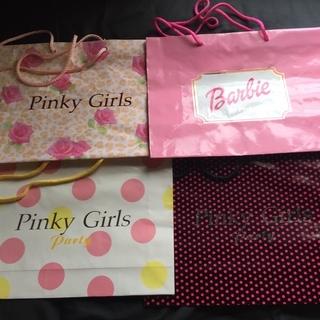 ☆pinky girls ピンキーガールズ☆ 9個ショッパー