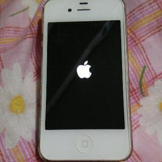【音楽プレーヤーとして】iPhone4 16GB ホワイト ソフ...