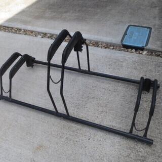 アイリスオーヤマ 自転車スタンド BYS-3 ブラック