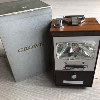 CROWN ランタン付きラジオ