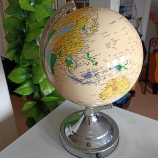 値下げしました地球儀 ランプ
