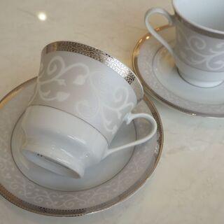 【お値下げしました】アラベスク柄のコーヒーカップ - 堺市