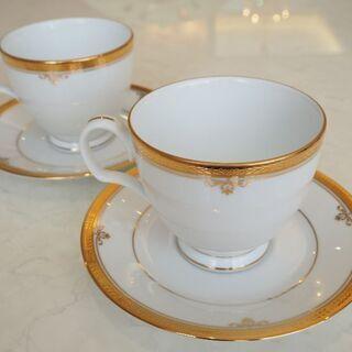 ノリタケのコーヒーカップセットの画像