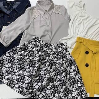 ブランドの女性用衣類 100点 マンガ倉庫で処分済