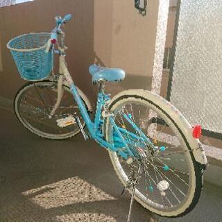 ブリヂストン エコパル 22インチ - 自転車