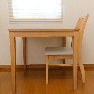 IKEA テーブル&椅子1脚(引出し付) ★連休特価中!!★