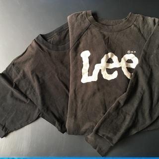 古着 Leeトレーナー と クロTシャツ Lサイズ 綿100% ...