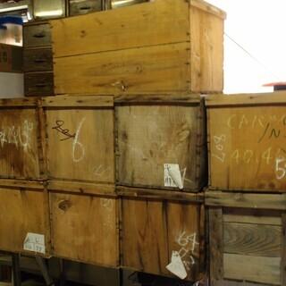 木製リンゴ箱 アンティーク風 棚 収納 おもちゃ箱としても使えます