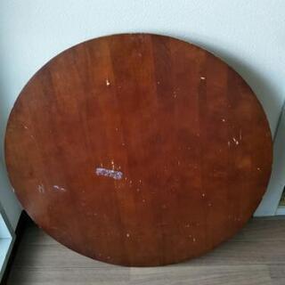 丸テーブルセット 75センチの画像