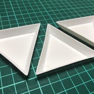 三角トレイ 3個セットで100円