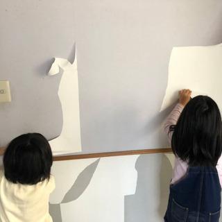 内装工事の手元作業