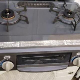 高年式2018年製、リンナイ プロパンガス用ガスコンロKGM33...