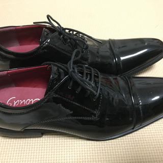 【最終価格】エナメル 黒の靴