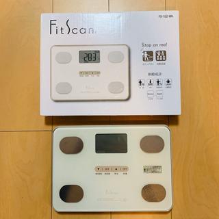 値下げ!タニタ TANITA FS-102-WH 体組成計 体重計の画像