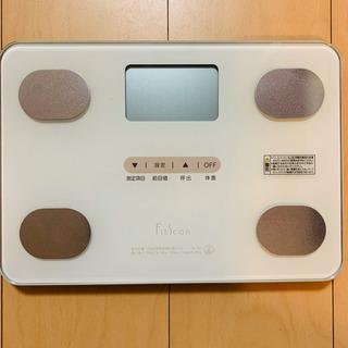 値下げ!タニタ TANITA FS-102-WH 体組成計 体重計 - 栗東市