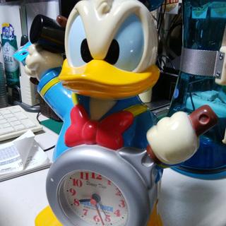 《姫路》ディズニーウッドペッカー目覚まし時計☆身長26cm可愛い^^