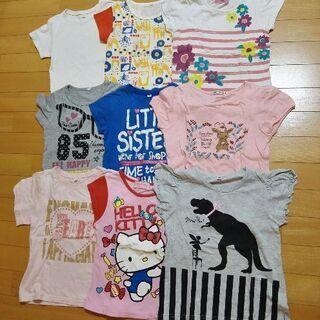 【まとめ売りお得20点】120cm半袖Tシャツ&ワンピ