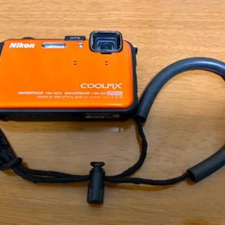 ニコン防水カメラ 美品 Nikon COOLPIX AW100 …