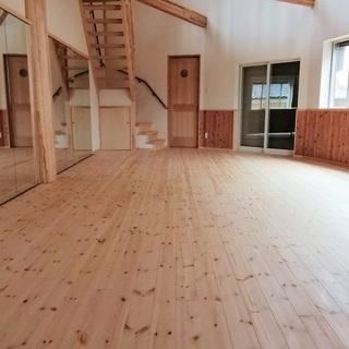 女性向ダンス・ヨガ教室 スタジオレンタル 鏡8枚有り