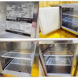 (4767-1)ホシザキ 業務用テーブル形冷凍冷蔵庫 RFT-180SNE 冷蔵側ドアパッキン新品交換済み 台下冷蔵庫 中古品 飲食店 店舗  - 家電