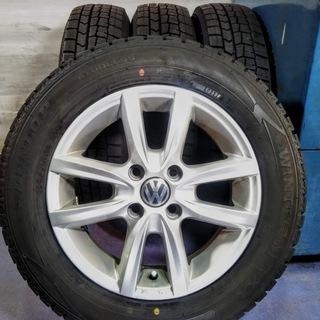 冬 VW アップ【冬タイヤ付き】ワーゲン UP【~90%富…