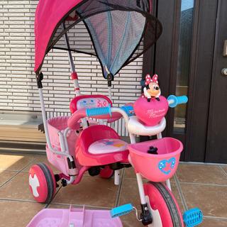 アイデスカーゴドーム ミニーマウス 子供用 三輪車